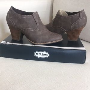 NWT✨ Dr Scholls Brown ankle bootie - Codi style